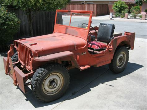 Jeep 1945 For Sale 1945 Willys Mb Wwii Jeep For Sale