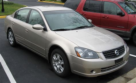 altima nissan 2006 which buyer took the hardest l once the manufacturer