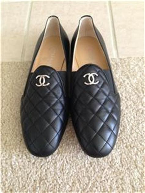 chanel quilted loafers bnib chanel black quilted loafers flats shoes sz 8 38 875