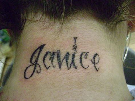 name tattoos on neck designs 55 neck letters