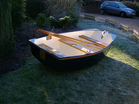 row boat dinghy brand new wooden rowing boat small row boat pram dinghy ebay