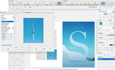 page layout design software for mac swift publisher desktop publishing and page layout
