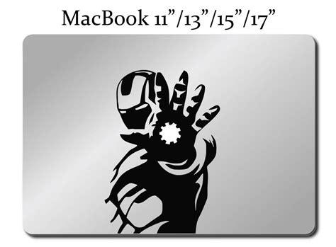 Macbook Aufkleber Ironman by Iron Decal Laptop Macbook Mac Pro Air Sticker All