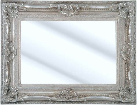 Silver Dining Room Mirrors Como Silver Framed Ornate Bevelled Mirror 6 Sizes Click