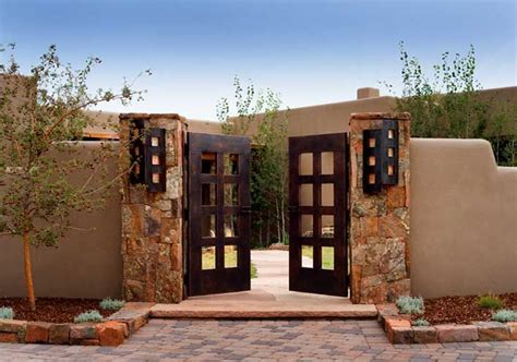 santa fe home designs i love courtyards awesome courtyard ideas pinterest