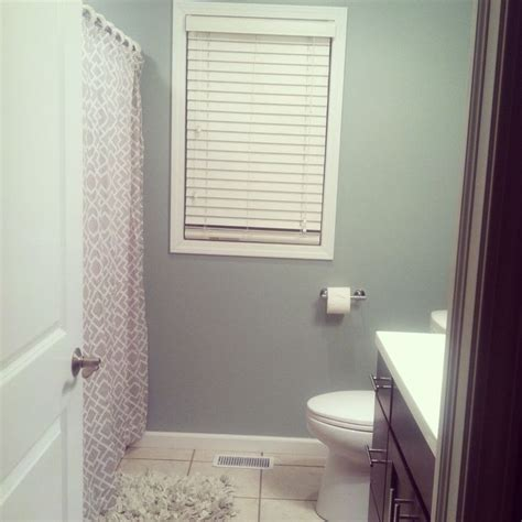 our new bathroom color sherwin williams silvermist paint painting colors