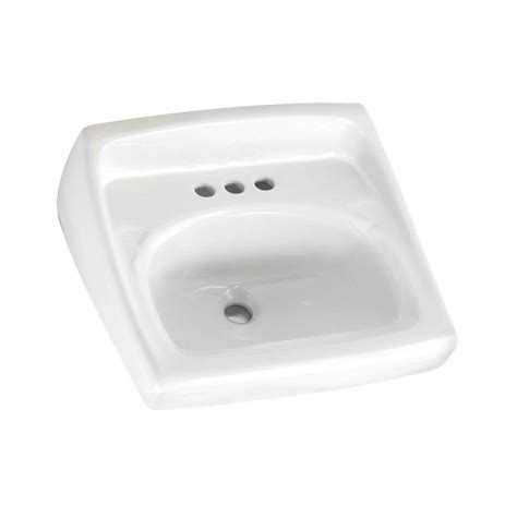 american standard bathroom sink faucets american standard lucerne wall mounted bathroom sink with faucet holes on 4 in center