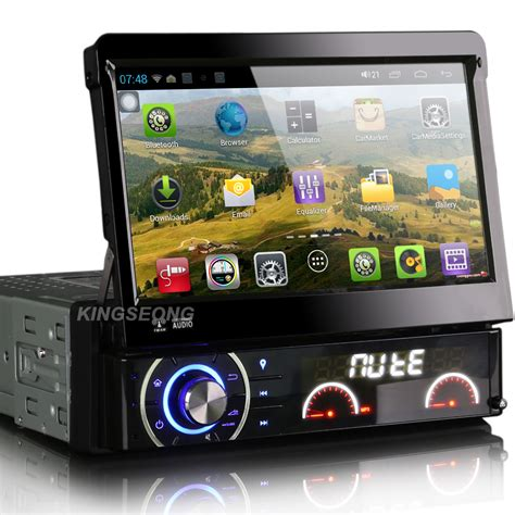 android din android 4 1 1 car pc 7inch 1 din car audio stereo car dvd