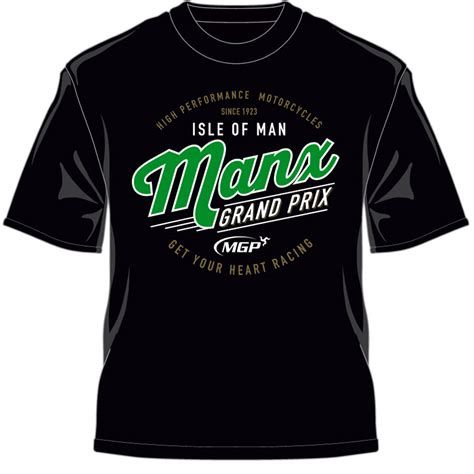 manx grand prix t shirts