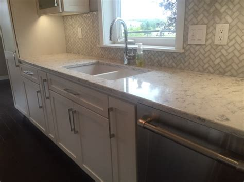 Used White Kitchen Cabinets For Sale by Rococo Quartz Kitchen Contemporary Kitchen Other