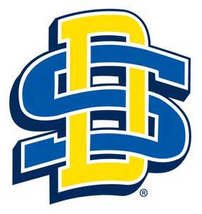 sdsu colors sd logo south dakota state