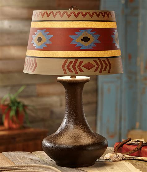 Pueblo Southwest Table Lamp