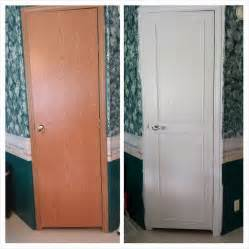 mobile home interior door makeover