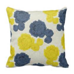 navy blue and yellow pillows decorative throw pillows