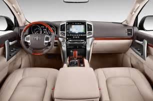2014 Toyota Land Cruiser Interior 2014 Toyota Land Cruiser Cockpit Interior Photo