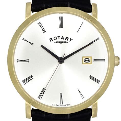 rotary gents gold plated rotary watches gents