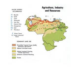 south america agriculture map detailed map of agriculture industry and resources of