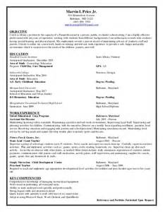 Sample Resume Objectives Paraprofessional by Paraprofessional Resume 2015