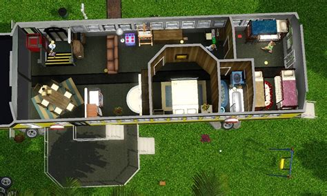 tiny house school bus mod the sims life inside a school bus and new tiny house