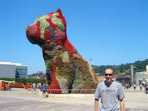 jeff koons flower puppy รวมประต มากรรมส น ขส ดอาร ท