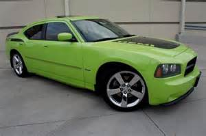 sell used lime green 07 dodge r t daytona hemi 20 inch