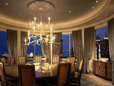 the circular dining room filling a round room with square designs three rules to
