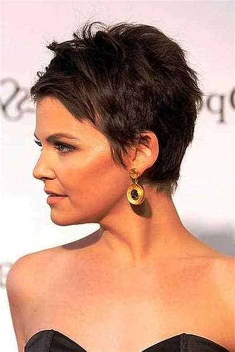 pinning back a pixie pixie hairstyles back view love that hair pinterest
