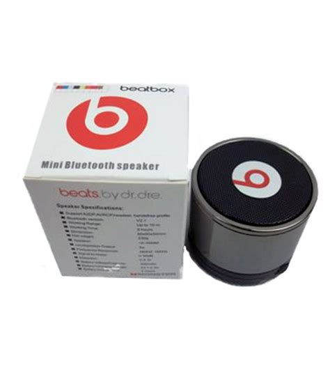 Speaker Beatbox Bluetooth Original beats beatbox bluetooth speaker buy beats beatbox bluetooth speaker at best prices in