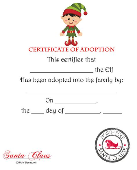 Printable Elf On The Shelf Certificate | unavailable listing on etsy