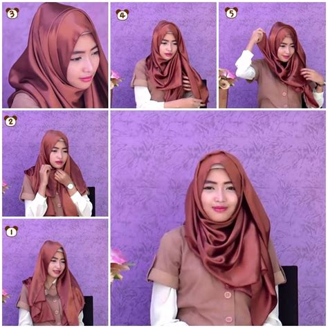 tutorial wide pashmina tutorial hijab pashmina simple untuk jalan jalan wide