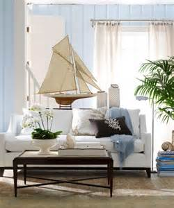 nautical living room decor nautical theme decorating with sailboat models nautical