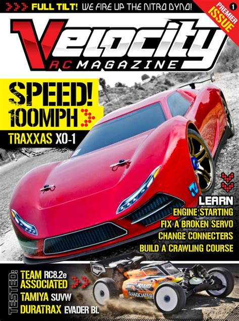Auto Zeitschriften by Velocity Rc Cars Magazine Free Trial Now Get It