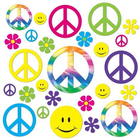 Set De 42 set de 42 s 237 mbolos hippie para pared 5 cm 28 cm my