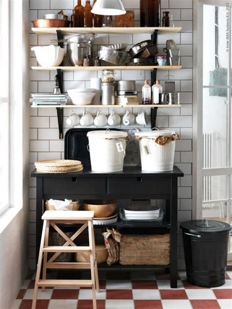 ikea kitchen storage ideas 44 stylish kitchens with open shelving decoholic