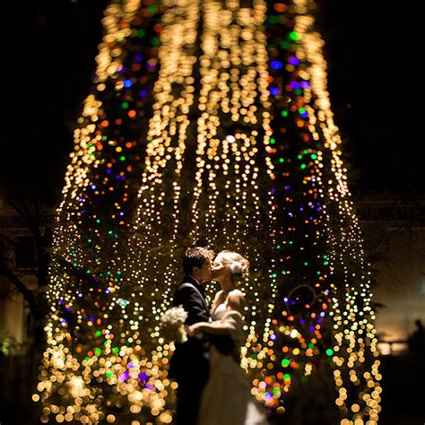 festive christmas wedding ideas the snapknot blog