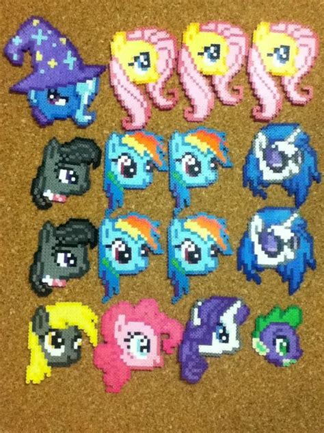 perler my pony 1000 images about perler on perler