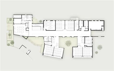 architecture school floor plan gallery of elementary school in tel aviv auerbach halevy