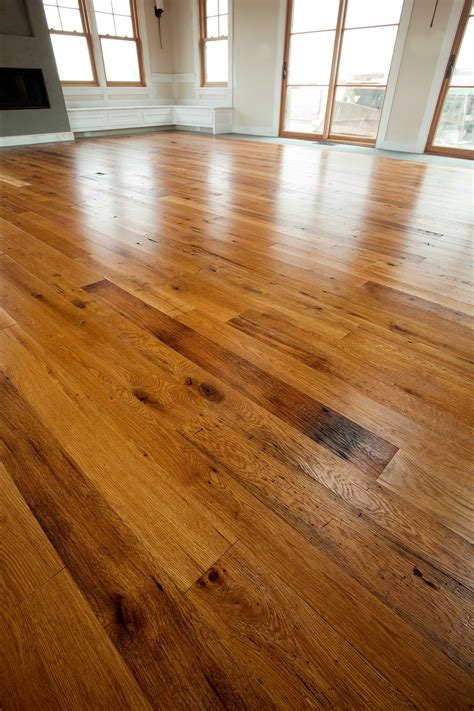 A American Custom Flooring by Longleaf Lumber Chestnut Oak Flooring