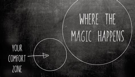 Where The Magic Happens Your Comfort Zone by Dakota Smith 171 Student