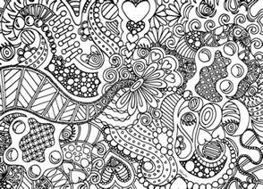 free zentangle coloring pages instant coloring page zentangle