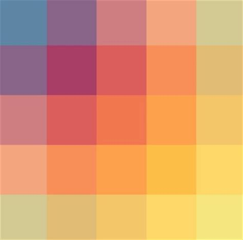 contemporary color scheme web design color theory how to create the right emotions
