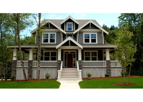wrap around porch house plans craftsman style house plan 3 beds 2 5 baths 3621 sq ft