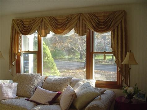 jabot curtains window treatments classic swag and jabot window treatment designs by