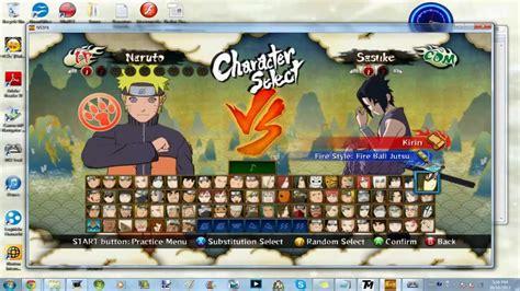tutorial naruto ultimate ninja storm 2 naruto shippuden ultimate ninja storm 3 full burst mod