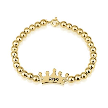 Crown Bead Bracelet bead bracelets