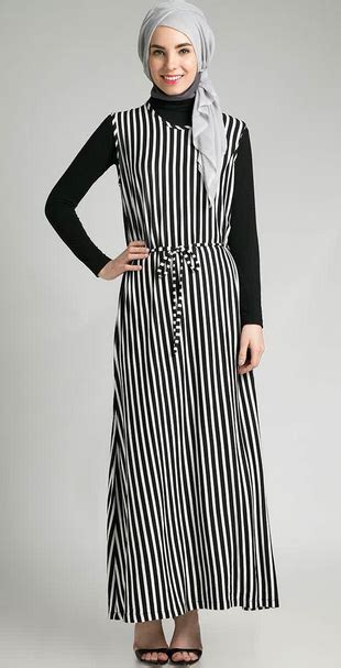Baju Muslim Dress Jv 2 Tua gambar trend model baju dress muslim modern 2015