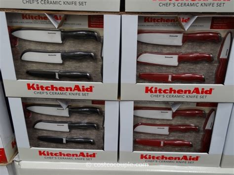 10 kitchenaid ceramic knife set kitchenaid 4 ceramic knife set with sheaths