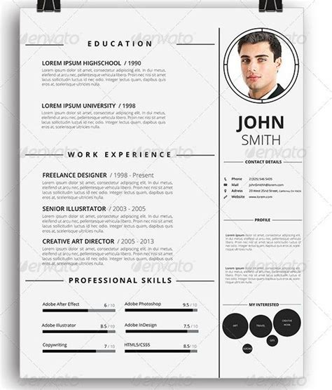 Awesome Resumes by Awesome Resume Cv Templates Graphic Design 56pixels