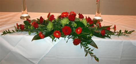 table flower wedding flowers