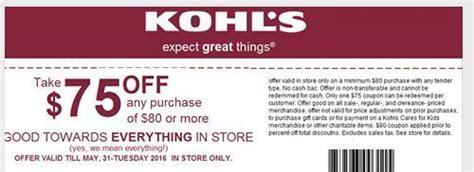 Kohls Gift Card Groupon - kohls coupons for april and may coupon codes blog